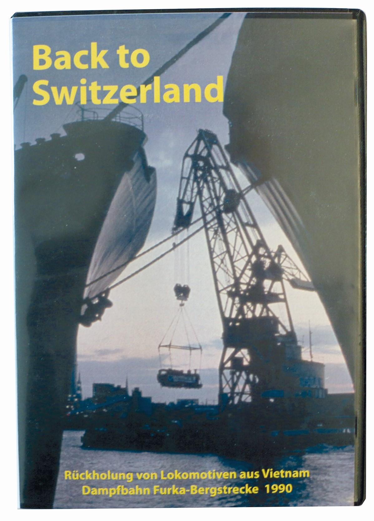 DVD Back to Switzerland