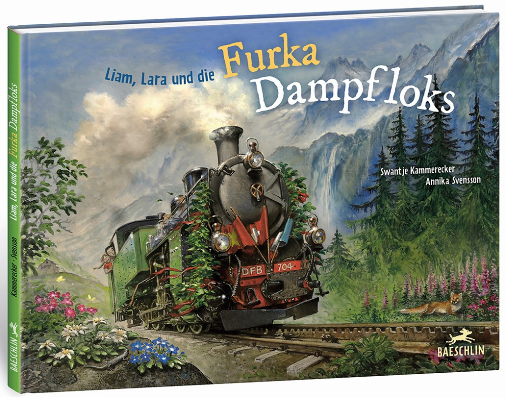 Liam, Lara und die Furka-Dampfloks