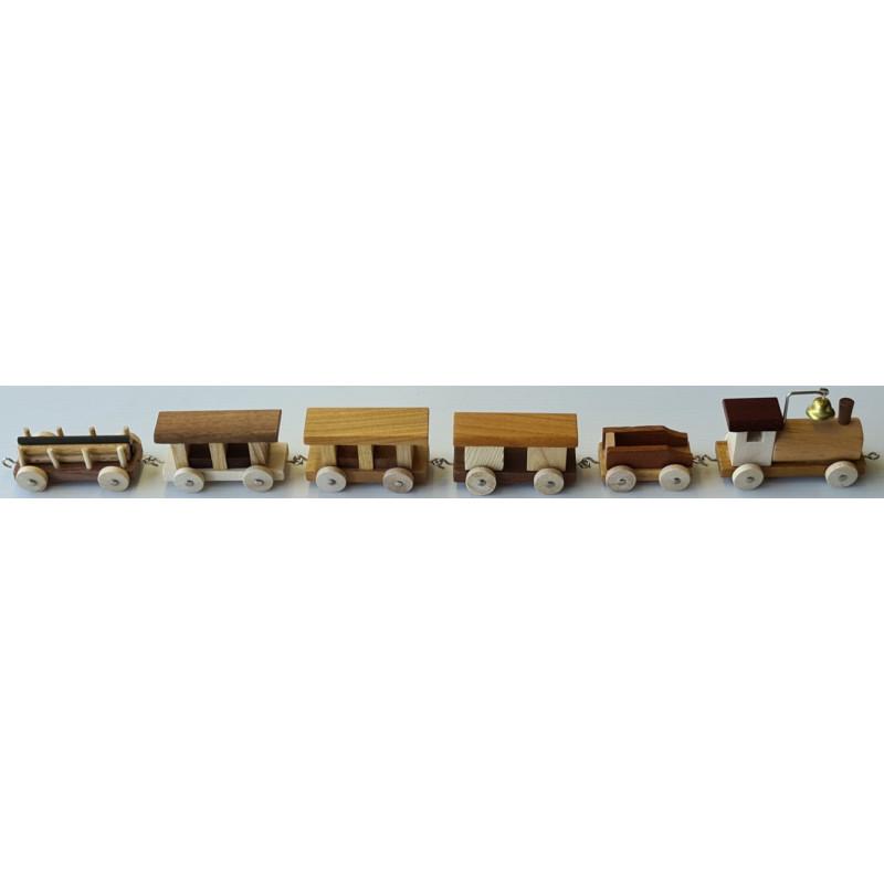 Holzzug 6-teilig