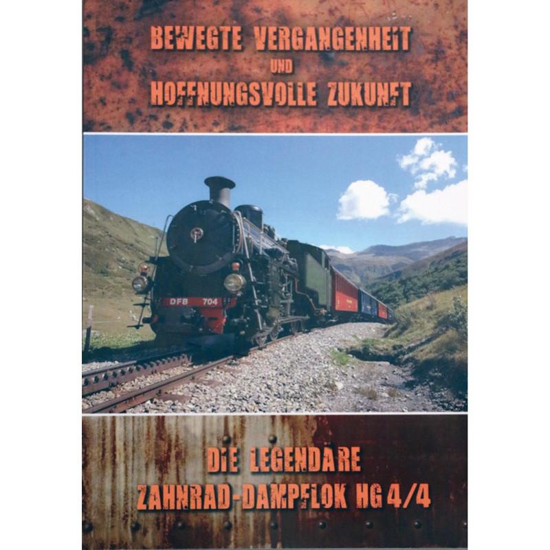 Broschüre Zahnrad-Dampflok HG 4/4