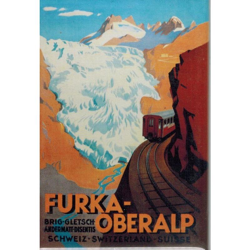 Magnet Furka-Oberalp-Plakat